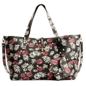 Under One Sky Women's Floral Amelia Tote Bag